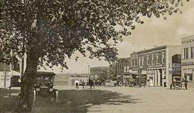 Town of Wheatland in 1918